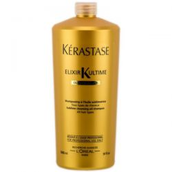 Kerastase Elixir Ultime Sublime Cleansing Oil Shampoo - Шампунь-ванна 1000 мл