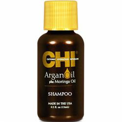 CHI Argan Oil Plus Moringa Oil Shampoo - Восстанавливающий шампунь с маслом арганы 15мл
