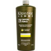 Kerastase Homme Capital Force Shampoo Vita-Energising Effect - Энергетический шампунь 1000мл